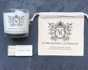 Lemongrass & Lavender - Artisan Scented Candle