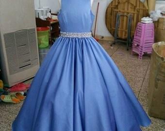 Girls pageant flower girl dress