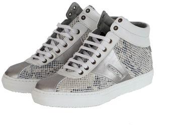 ARISHI SILVER SNAKE, Vegan Sneaker, On Sale!