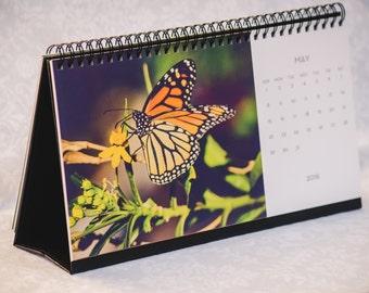 2016 Calendar, 2016 Photography Calendar,Fine Art Photography, 2016 Desk Calendar,Calendar with Built-in-Easel,Nature Photography, 2016