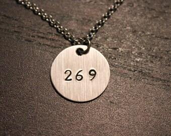 269 Necklace|269 Calf Necklace