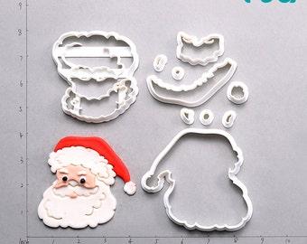 Santa Claus Fondant Cutter    santa claus is coming to town,