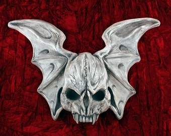 Winged Skull Gothic Wall Decoration