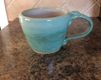 Mint Green Soup Mug