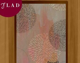 Digital Abstract Print, Abstract Art Print, Modern Art Print, Wall Decor, Printable Art, Instant Download, #F001