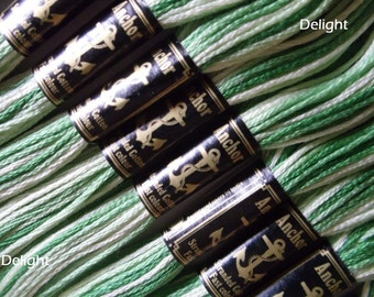 Anchor Thread 1215 Variegated 6 Strand Floss / Skeins