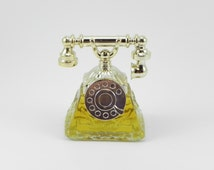 FREE SHIPPING Unique Vintage Avon La Belle Telephone Charisma Perfume Bottles Vanity Collectible Beauty New Old Stock Cheratiques ItemAW328