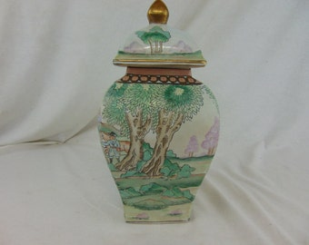 Turn of the Century Japanese Vase-Collectible-Decorum-Rare