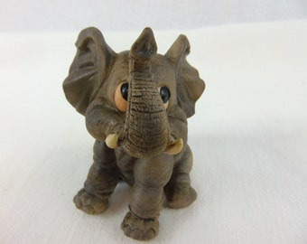 1960's Andrea by Sadek Baby Elephant-Vintage-Decorum-Collectible