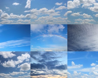 Blue Skies Overlays