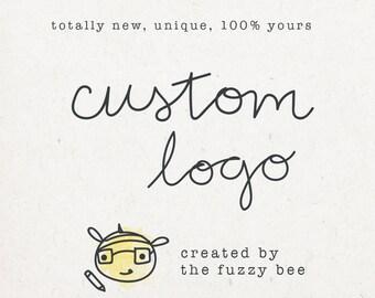 Custom Small Business Logo - small business branding, custom branding, custom logo design, branding help