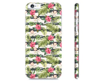Tropical iPhone 6 Case Tropical iPhone 5 Case Tropical Galaxy S5 Case Floral iPhone Case Girlfriend Gift iPhone 6s Case iPhone 5s Case