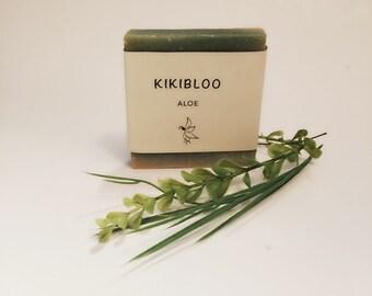 Aloe Soap Vegan Organic Cold Process Soap By kikibloo