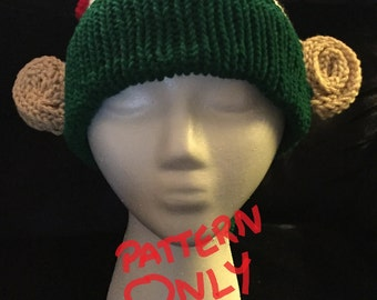 Elf Hat with Ears PATTERN