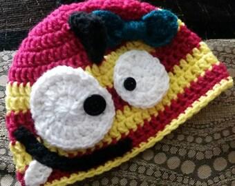 Girl Monster Mohawk Spiked Hat