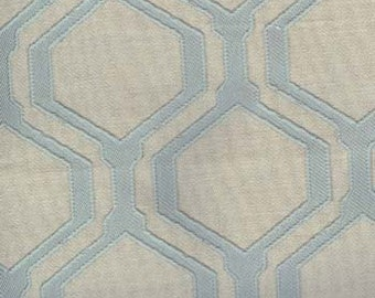 POWELL-SEASPRAY Aqua Geometric