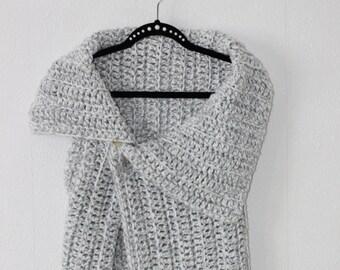 Very nice and elegant handmade crochet vest wrap