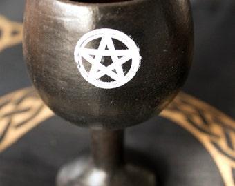 Ritual Goblet with Pentagram (ceramic)