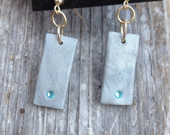 Classy and Modern Polymer Clay Dangle Earrings