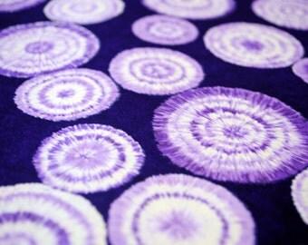 Handmade origami paper - Batik on violet
