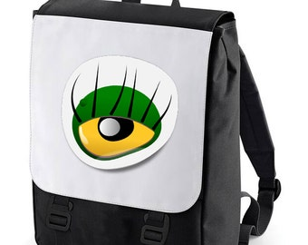 Monster Eye Backpack perfect for school (Bagbase)
