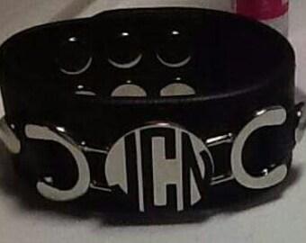 Cuff Bracelet+Personalized Bracelet+Monogrammed+Gift