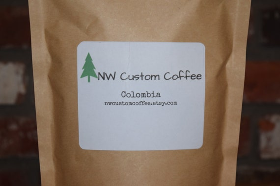 1 Pound of Colombia Fair Trade Coffee