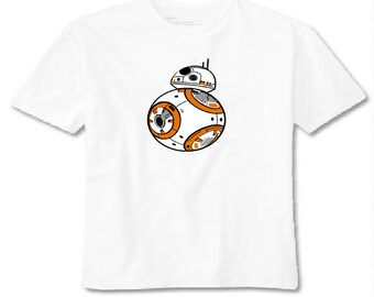 Star Wars BB8 Toddler Shirt! Available in sizes 2T, 3T, 4T, 5T and 6T!