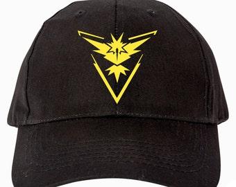 Pokemon Go Team Instinct Hat