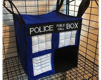 TARDIS design - Tardis/Dr Who Cube Hammocks for Rats Ferrets Chinchilla Gerbil Degu
