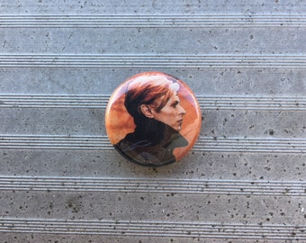 """David Bowie 1"""" Button"""