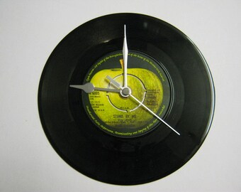 "John Lennon - ""Stand By Me"" Record Wall Clock"