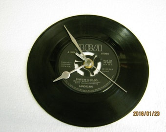 "Landscape - ""Einstein A Go-Go"" Vinyl Record Wall Clock"