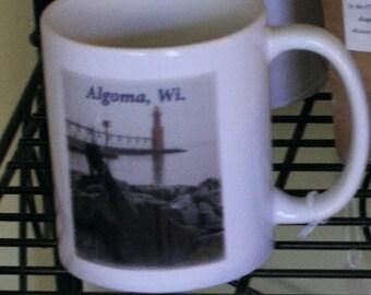 Mug: Algoma Pier