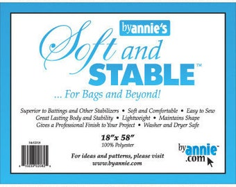 "ByAnnie's Soft and Stable - 18"" x 58"" - white"
