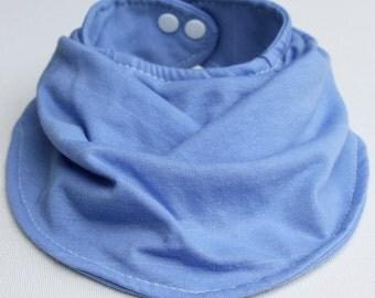 Baby Bandana Bib Pastel Blue