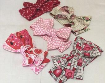 Valentine's Day headwraps!