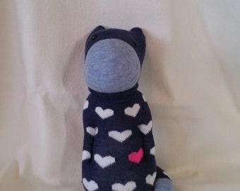 Catopotamus the sock cat