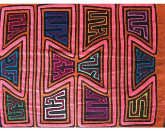 Mola- Authentic Kuna Tribe art from Colombia!
