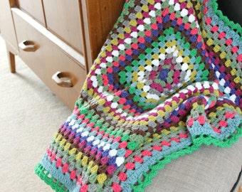 Crochet Granny Square.