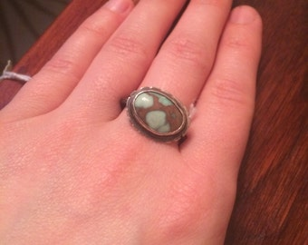 Vintage Demel turquoise ring