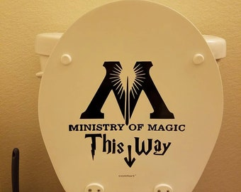 Harry Potter Ministry of Magic Decal