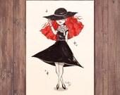 Inktober - Witch