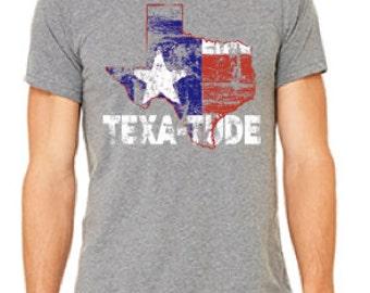Men's TEXA-TUDE Heather Grey T-shirt