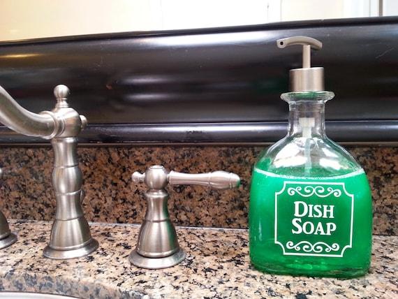 Patron Dish Soap Dispensers Patron Dish Soap Bottle