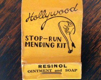 Vintage Advertising Mending Kit