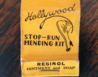 Vintage Advertising Mending Kit