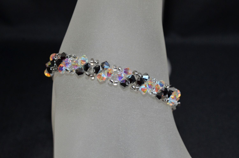 swarovski crystal bracelet fine crystal and crystal light