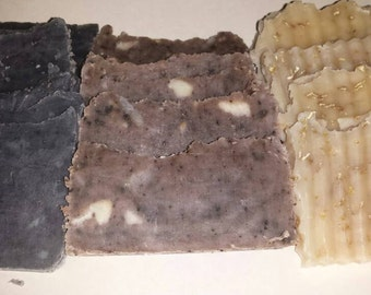 1-2 oz Travel Size all natural soap samples
