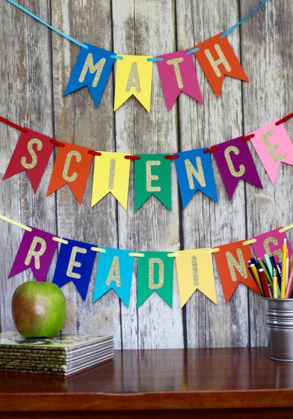 Classroom Decor Etsy ~ Classroom banner teacher sign